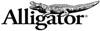 Alligator - logo firmy vyrábějící mechanické spojky pásů pro lisy a baličky