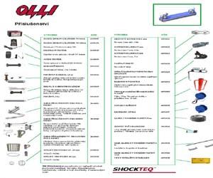 doplňující prvky elektrických ohradníků OLLI