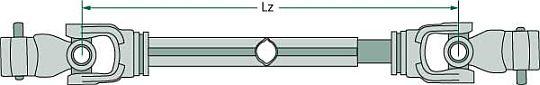 Kardanové hřídele Weasler schéma