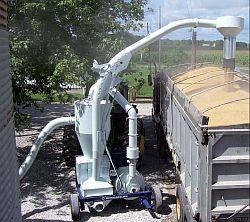 Nasávací penumatický dopravník obilí Kongskilde SupraVac 2000