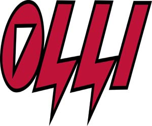 Logo firmy Olli vyrábějící elektrické ohradníky