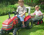 Hračky pro děti - šlapací traktory Rolly Toys a Big