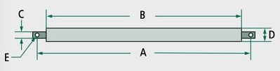 Rozpěrná lišta pro spodní závěs třetího bodu schéma