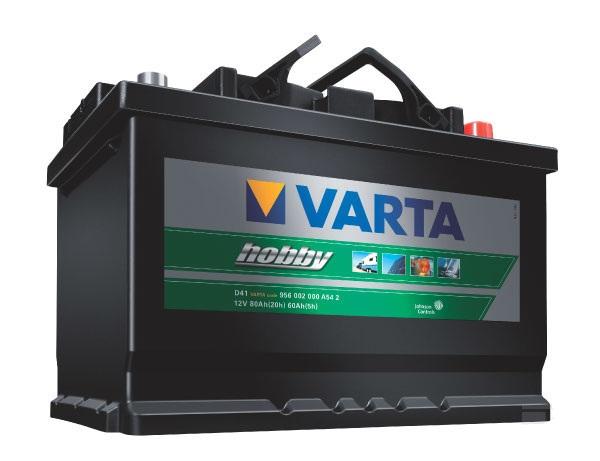 Semi-trakční baterie Varta