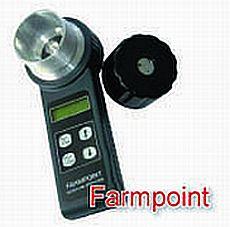 Vlhkoměr digitální Farmpoint s integrovaným mlýnkem: